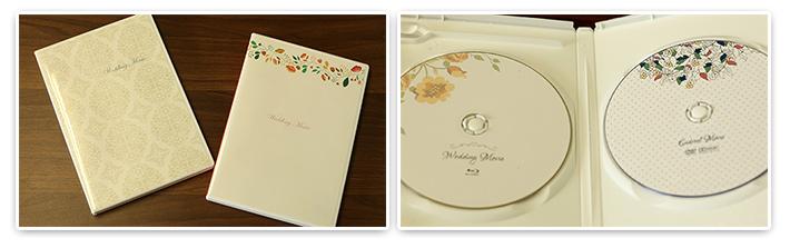 結婚式 DVDケース
